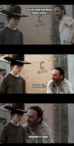 Walking dead dad jokes